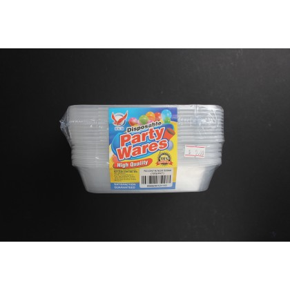 Rectangle Container 500ml